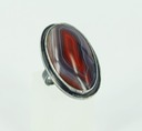 sterling silver queensland agate ring